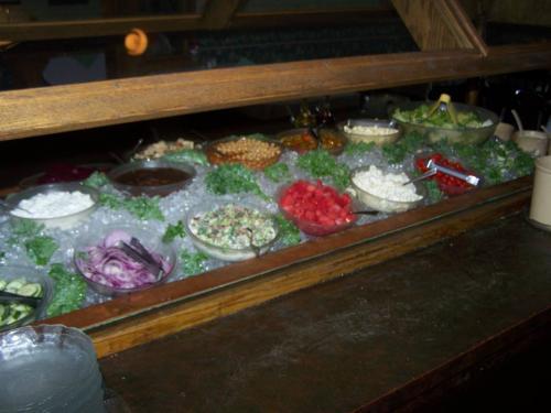 bear creek inne salad bar